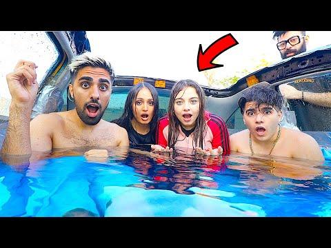 !!! حولت سيارة الى مسبح 🤯 وسبحنا فيه - ARABIC MO VLOGS