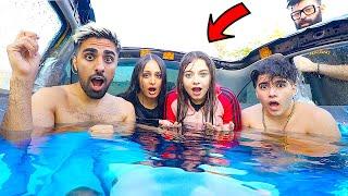 !!! حولت سيارة الى مسبح 🤯 وسبحنا فيه