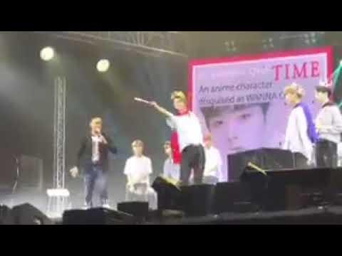 Wanna One in Manila - Bae Jin Young as a cute fairy prince