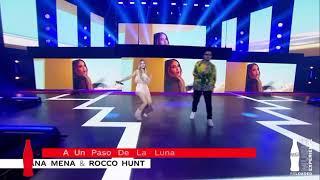 Ana Mena, Rocco Hunt - A Un Paso De La Luna (Directo en #CCMEreloaded)
