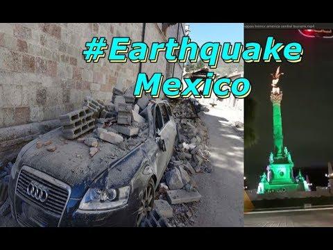 TERREMOTO Magnitude 8.2 no México. O #earthquake assusta o mundo: Ameaça #Tsunami até Equador