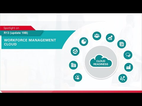 Oracle Applications R13 (update 18B) Spotlight on Workforce Management Cloud