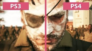 Metal Gear Solid 5 The Phantom Pain – PS3 vs. PS4 Graphics Comparison [FullHD][60fps]