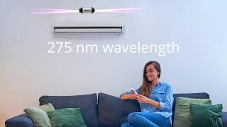 Airshield UVGI Projectors