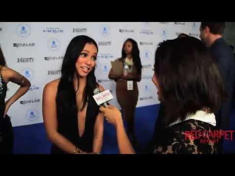Karrueche Tran on the Blue Carpet at Autism Speaks 10th Anniversary Gala #LAChefs4Autism thumbnail