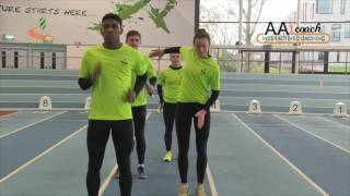 Relays - 4x1 Squad Drill Static Take