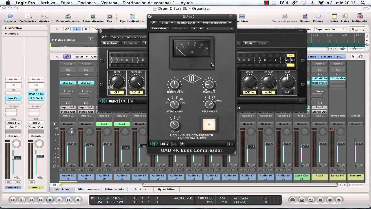 Técnicas de compresión de audio
