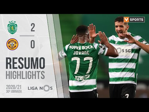 Highlights | Resumo: Sporting 2-0 CD Nacional (Liga 20/21 #30)