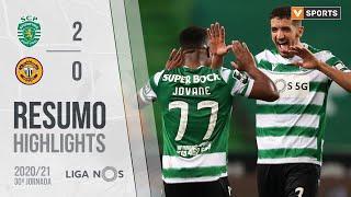 Highlights   Resumo: Sporting 2-0 CD Nacional (Liga 20/21 #30)