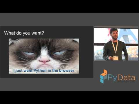 Almar Klein - Running (snippets of) Python in the browser