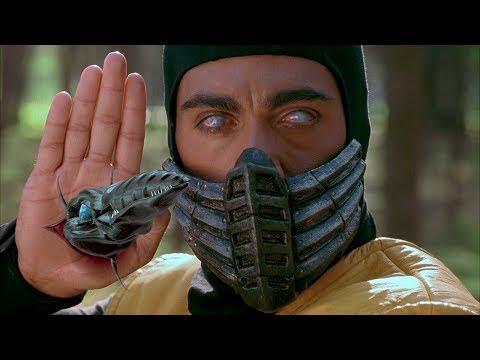 """Джони Кейдж против Скорпиона - """"Смертельная битва"""" отрывок из фильма"""