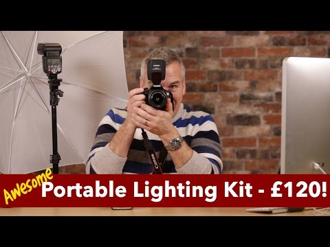 Awesome Portable Lighting Kit and how I use it professionally!