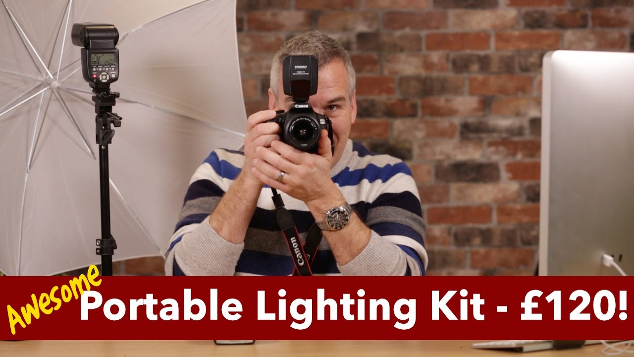 awesome portable lighting kit and how i use it professionally youtube
