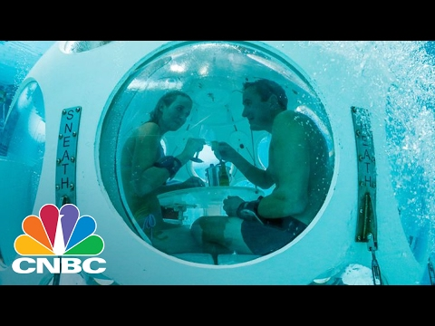 World's First-Ever Scuba Restaurant 'The Pearl' Opens In Brussels   CNBC