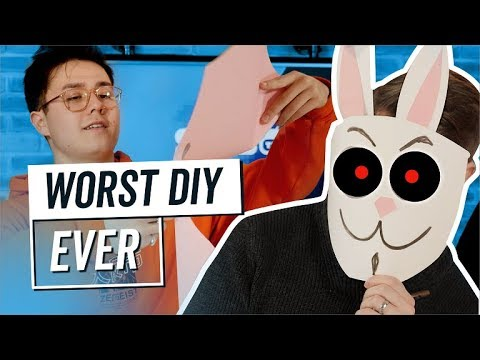DIY Frank Mask Gone Wrong | SYBO TV Hosted