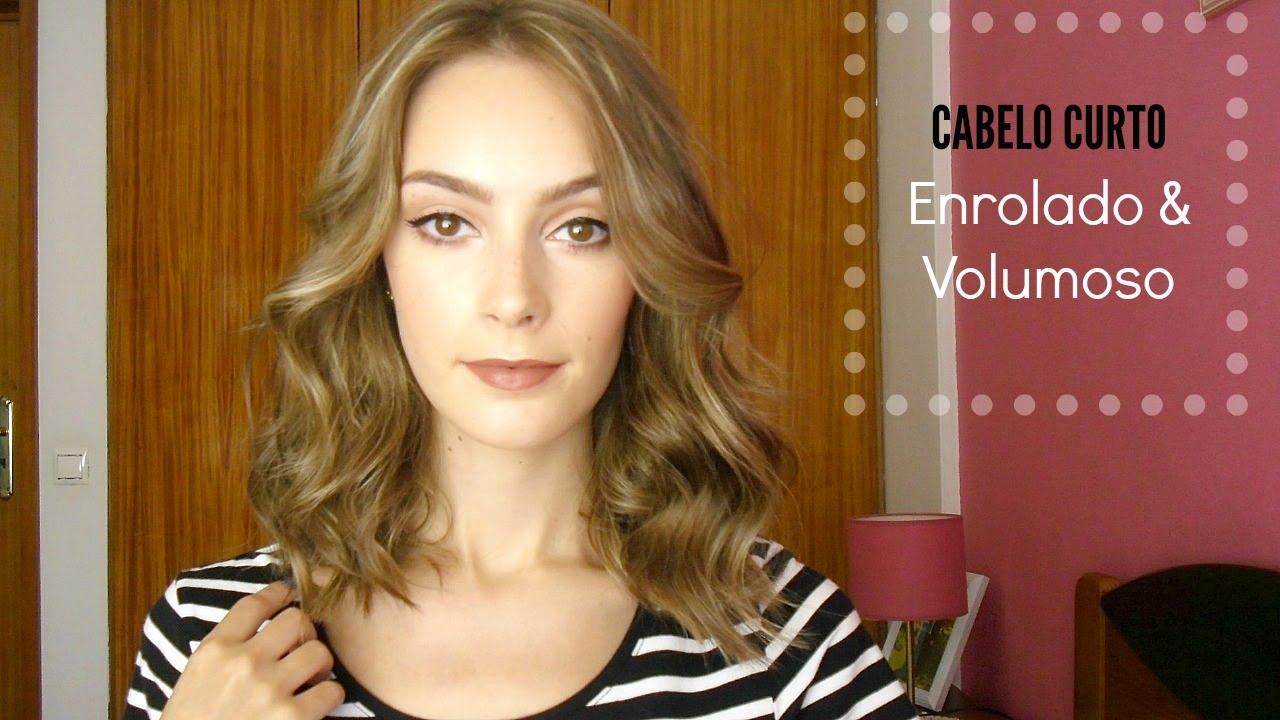 Top Cabelo Curto - Enrolado & Volumoso - YouTube BJ48