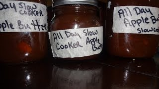 How To Make All Day Apple Butter In The Slow Cooker