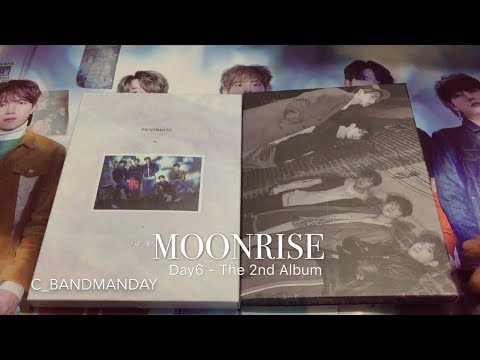 [Unboxing] Day6 데이식스 -《MOONRISE》The 2nd Album (full versions)