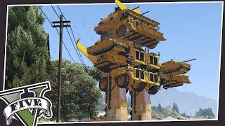 GIANT MECH ROBOTS IN GTA 5!