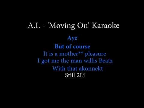 A.I. - Moving On (Karaoke Video)