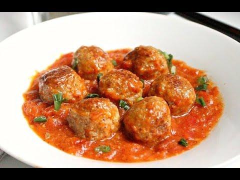 Cách làm thịt viên sốt cà chua ngon tuyệt tại nhà