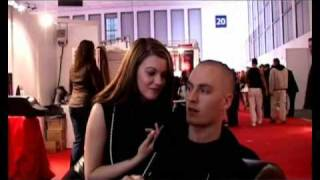 Maxim (K.I.Z.) & Leonie Saint auf der Venus 2009 Teil2
