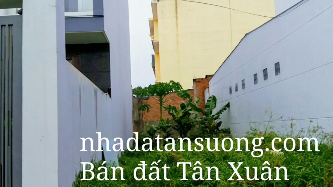 Bán đất nền Tân Xuân Hóc Môn 5mx20m giá 1.6 tỷ