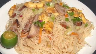 Fried beehoon Singapore style 新洲米粉