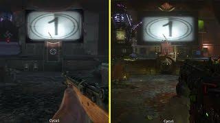 CoD Zombies Chronicles Kino Der Toten PS3 vs PS4 Graphics Comparison
