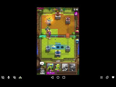 Clash Royale Android Gameplay #16 Winning Card Deck For Arena 1