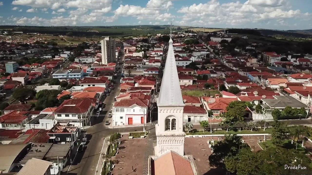 Monte Santo de Minas - Visão de Drone - YouTube