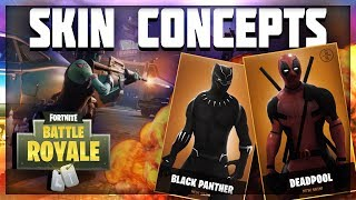 BEST SKIN CONCEPTS For Fortnite : Battle Royale /// Top 5