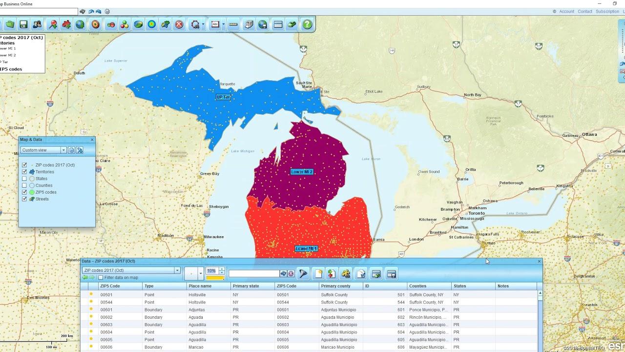 Suffolk Va Zip Code Map.Exporting Zip Codes With Map Business Online Youtube