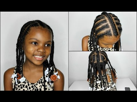 Protective Styles for Natural Hair Kids | LittleMindCatchers - YouTube