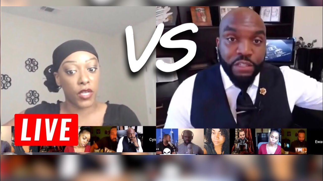 Cynthia G Vs E. Dean Cole Debate | Strong Black Woman vs Strong Black Man