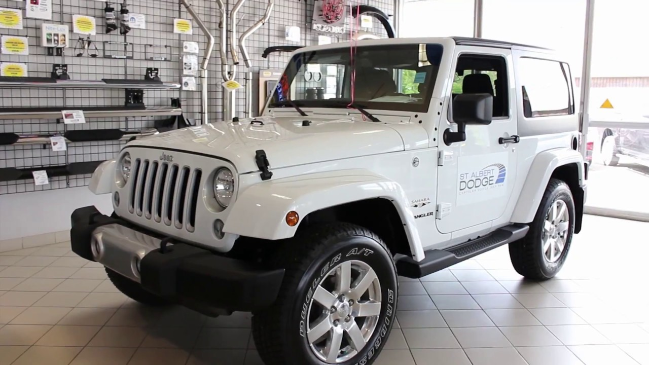 Jeep Sahara Wrangler 2 Door