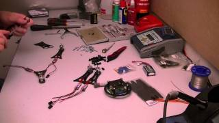 Building the QRM quadcopter - Part 3: Frame Assembly
