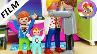 Playmobil video Nederlands - PAPAS VRIEND KUST MAMA KINDEREN HEBBEN HET GEZIEN