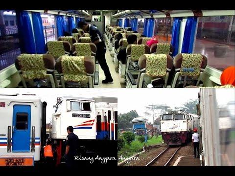 Train Riding - Kereta Api Argo Parahyangan from Bandung to Jakarta
