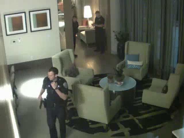 Burglars caught on cameras by Aclarity Systems