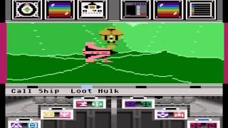Atari 8-bit Koronis Rift (Lucasfilm Games) - Rift 5 Atari logo hulk