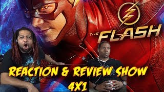 The Flash Season 4 Premiere Reaction & Review Show!!!