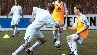 Fussball Training DVD Angriffsfussball 2 Y-Form mit Hinterlaufen