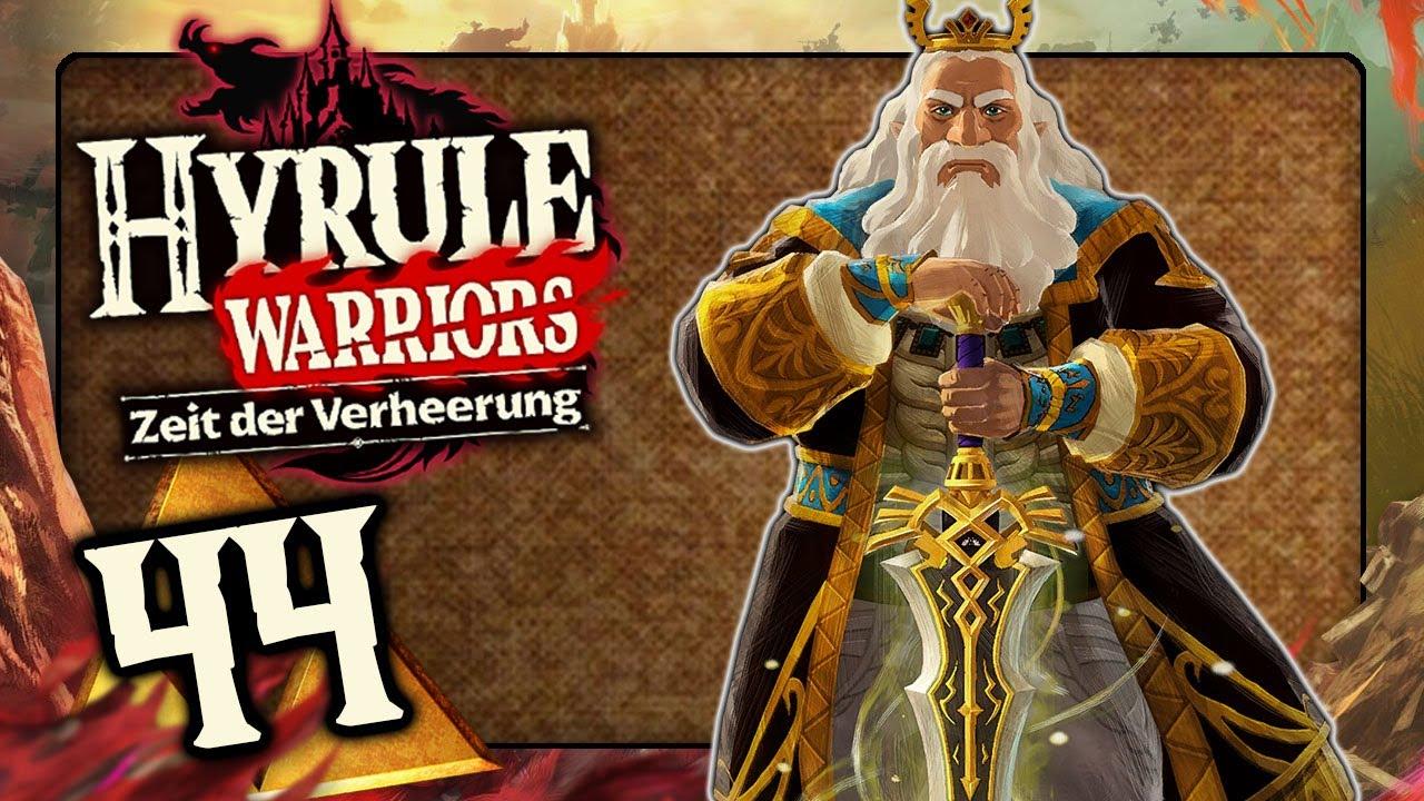 Hyrule Warriors Zeit Der Verheerung 44 Wiederaufstieg Des Konigs Rhoam Bosphoramus Hyrule Youtube