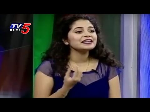 Baahubali Movie Singer Damini Sings Pacha Bottasi Song | Mounima | TV5 News