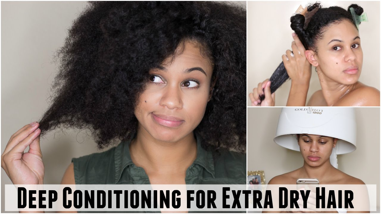Deep Conditioning Treatment Routine For Extra Dry Hair Scalp On