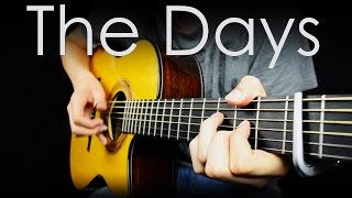 The Days - Avicii - Fingerstyle Guitar Cover