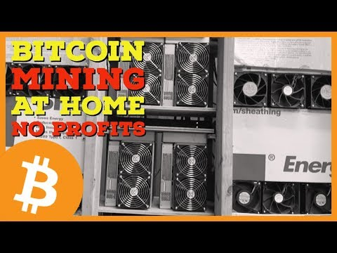 Mining Bitcoin BTC At Home Is NOT PROFITABLE | Network Difficulty Rising Faster Than Bitcoin Price
