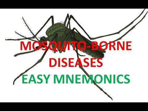 Mosquito Borne Diseases -Easy Mnemonics