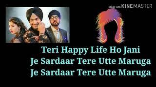 Sardaar Lyrics – Vaibhav Kundra Manj Musik starring Rupali Sood